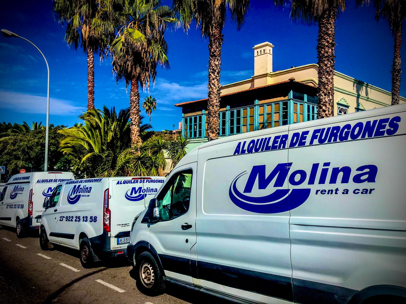 rent a car molina flota