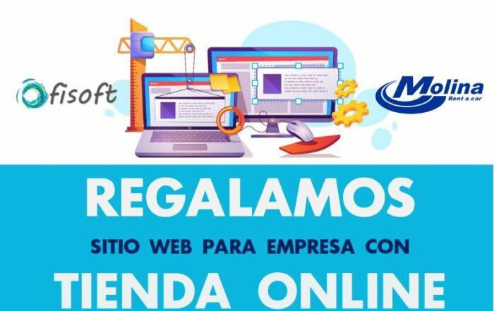 Rent a Car Molina y OfiSoft regalan una tienda online